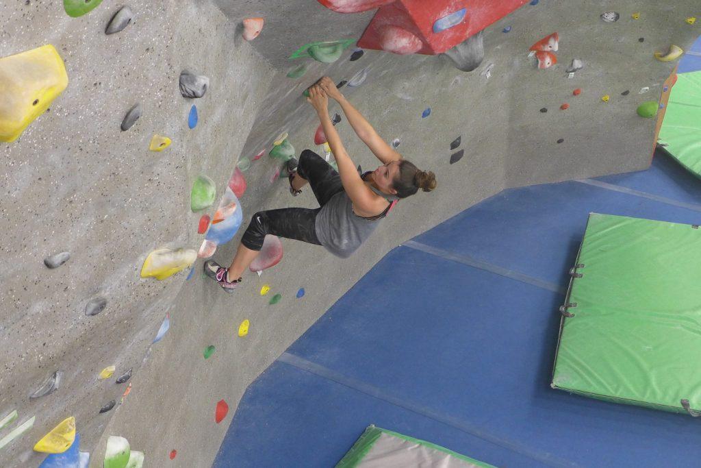 Women Climbing Raleigh
