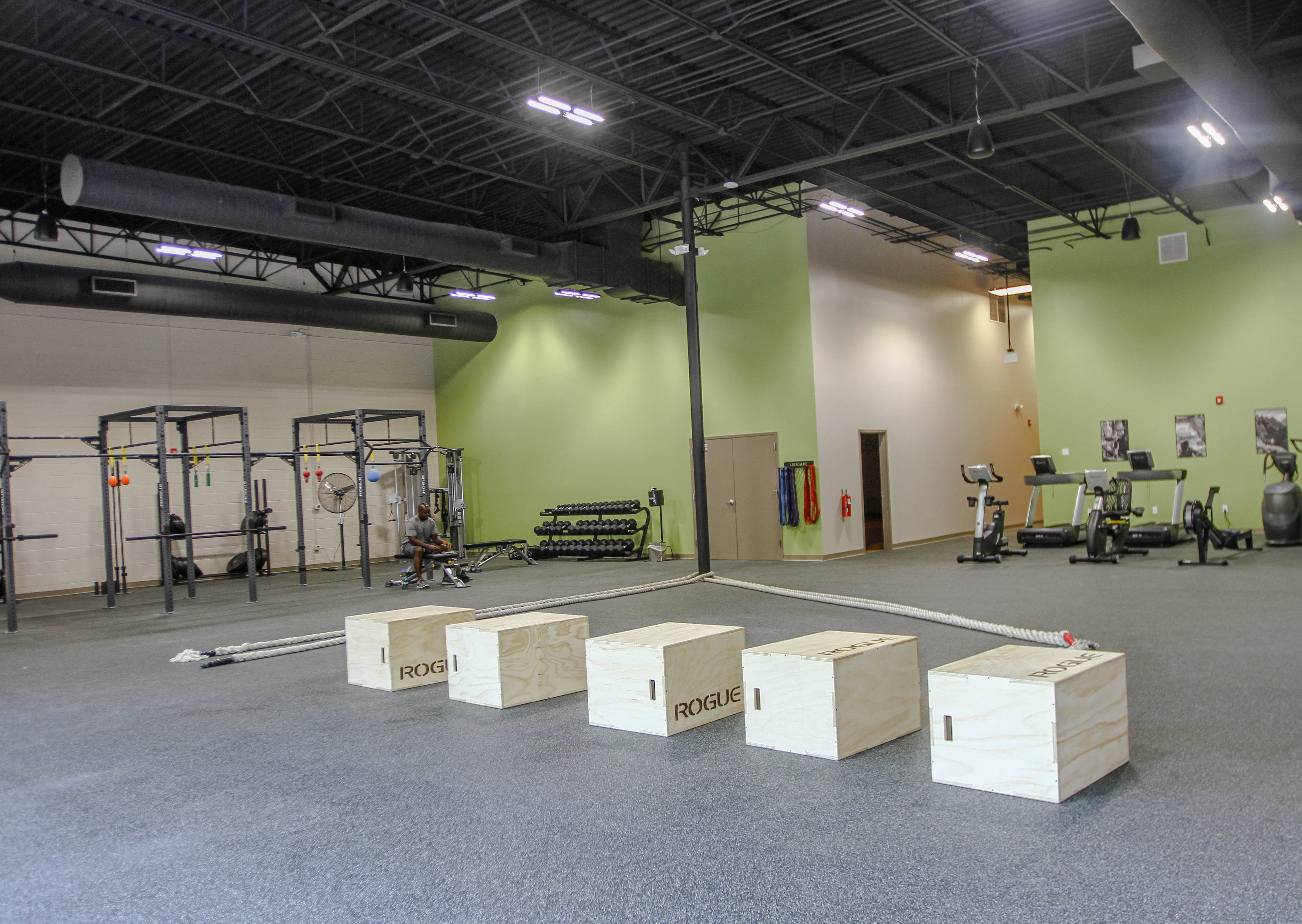 North Raleigh  Fitness, Ninja Warrior Training, Rogue Rack and Raleigh Gym