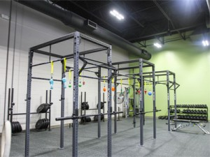 TRC North Raleigh Fitness Rogue Rack